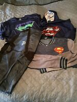 Superman Clothing Lot – One Hoodie Two Jackets One Shirt All Men's Extra-Large