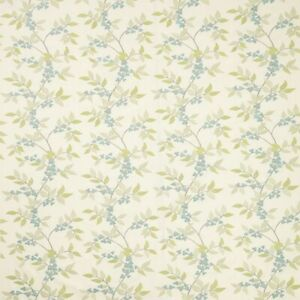 Bougainvillea Celadon - By iliv - Embroidered Fabric - 1.15 Metre Piece
