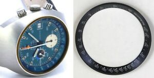 OMEGA SPEEDMASTER MARK III BLUE Inner Bezel Ref. 176.009 Genuine original unused