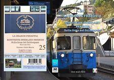 DVD Video Rail - the great rail-Montreux-OBERLAND bernois-vol.25