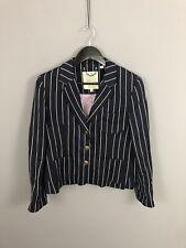 JACK WILLS X MOON Blazer/Jacket - UK14 - Striped - Great Condition - Women's