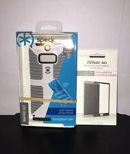 NEW!!! Speck CandyShell Grip Case for HTC One M8 & Moshi Ivisor Screen Protector