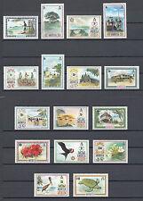 ANGUILLA 1972 SG 130/44 MNH Cat £55