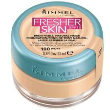 Rimmel London Fresher Skin Foundation Shade 100 Ivory 25ml