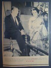 Ap Wire Press Photo 1984 President Ronald Reagan & India P M Indira Gandhi #2