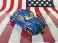 Maisto 1/64 VW 1300 bug beetle blue
