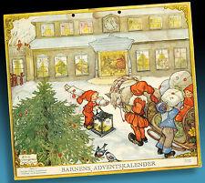 Antiguo Calendario de Adviento 1954 Original > Mágico Navidad > Fabulosa