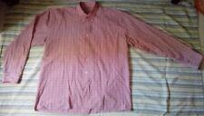 PHILADELPHIA - Chemise rose a carreaux  manches longues pour Homme