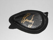 RANDY krummenacher firmato RACE WORN KNEE SLIDER Moto2 molto RARA.