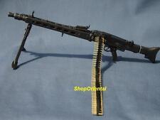 MG42 1:6 Scale Action Figure DRAGON WW2 GERMAN ARMY MG-42 MACHINE GUN + BULLET