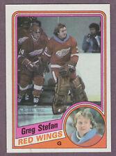 1984-85 Topps Hockey Greg Stefan #48 Detroit Red Wings NM/MT