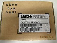 NEW LENZE LECOM-LI COMMUNICATION MODULE EMF2102IBCV003 FACTORY SEALED