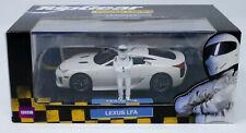 Minichamps 1/43 Scale 2010 Lexus LFA BBC Top Gear The Stig Figure Limited Edit