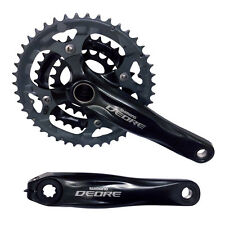 Shimano Deore M590 9-Speed 44x32x22T Triple Chainset 170mm Black