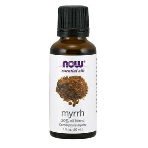 NOW FOODS 100% Pure Myrrh Oil Blend 1 oz FRESH, FREE SHIPPING, Made In USA
