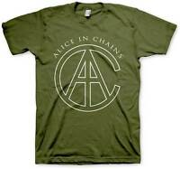 ALICE IN CHAINS - AIC Rocks - T SHIRT S-M-L-XL-2XL Brand New - Official T Shirt
