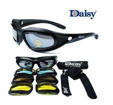 2 pairs DAISY C5 KIT - 4 Interchangeable Lens Harley Bobber Sunglasses