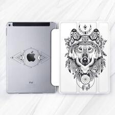 Wolf Mandala Feather Animal Case For iPad Pro 9.7 10.5 11 12.9 Air Mini 2 3 5