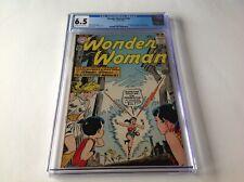 WONDER WOMAN 140 CGC 6.5 FAMILY MER BOY DC COMICS