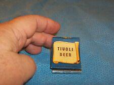 Tivoli Beer Yuletide Greetings Matchbook