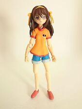 "Melancholy of Haruhi Suzumiya 5"" Figma Authentic Max Factory Japan k#10627"