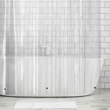 "mDesign X-Long Premium Waterproof EVA Shower Curtain Liner, 72"" x 96"" - Clear"