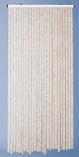 Rideau de Porte Chenille Beige Florence 90 x 220 cm Morel