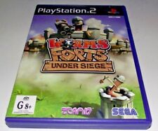 Worms Forts: Under Seige PS2 PAL *Complete*