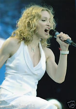 MADONNA PHOTO UNIQUE IMAGE UNRELEASED LIVE 8 LONDON 2005 12 INCH HUGE  GEM
