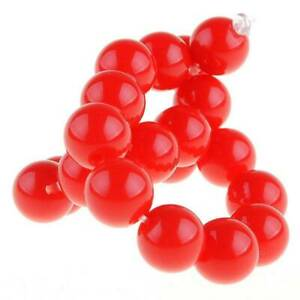 Round Acrylic Plastic Loose Beads lot 6mm 8mm 10mm 12mm 14mm 16mm 18mm 20mm