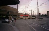 PHOTO  1996 BELGIUM TRAM BRUXELLES MIDI  TRAM NO 79XX CAR