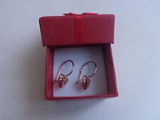 Vintage Soviet Solid Rose Gold Earrings 14K 583 Star Hammer Russian USSR 2.2 gr