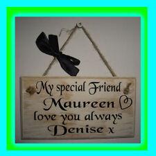Best Friend Decorative Indoor Signs/Plaques