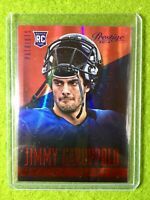 JIMMY GAROPPOLO ROOKIE CARD JERSEY #10 49ers SP RC PATRIOTS 2014 Panini Prestige
