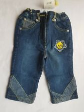 NWT Baby Girl Jeans Disney 12M