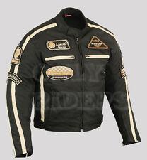Veste En Textile Pour Homme, Veste Textile, Motard Blouson Pour Moto Noir, XL