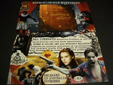 BAZ LUHRMANN has something for everybody COLLAGE STYLE 1997 Promo Poster Ad mint