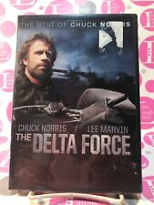 SEALED / NEW - THE DELTA FORCE DVD THE BEST OF CHUCK NORRIS