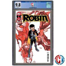ROBIN #1 CGC Graded 9.8 Guaranteed PRESALE DC Comics 4/28/21