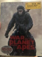 War for the Planet of the Apes Blu-Ray Andy Serkis Woody Harrelson 2017