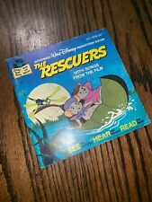 Walt Disney Productions The Rescuers Book and Record #367 1977 Disney's Songs