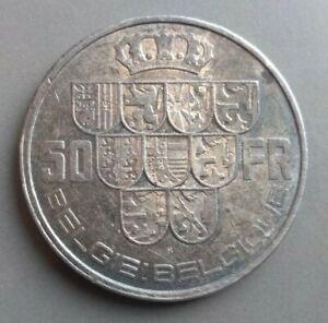 50 francs Belgium 1940, VF
