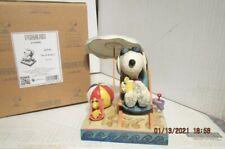 Jim Shore Peanuts Beach Buddies Snoopy and Woodstock Figurine 4049415