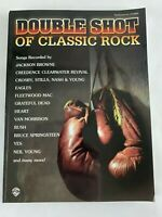 DOUBLE SHOT OF CLASSIC ROCK - Piano/Vocal/Chords - Songbook - Warner Bros