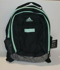 ADIDAS Atkins Backpack Boys Girls Children Unisex School Bag Black Gray Green
