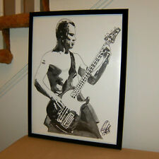Flea, Red Hot Chili Peppers, Bass Guitar, Bassist, Funk Rock, Music 18x24 POSTER