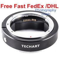 Techart EF-FG01 Auto Focus Adapter For Canon EF Lens to Fujifilm GFX 50R 50S 100