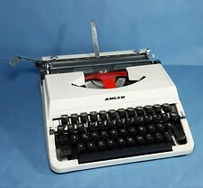 Alte Reise Schreibmaschine Adler * Made in Japan * Vintage Typewriter * Rar