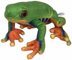 2899-23 Green Tree Frog Soft Plush Toy, 23 cm