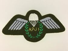 Britain/British Army Parachute Jump Instructors cloth jump wings